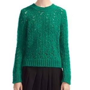 Maje Sweater Monou Green Large